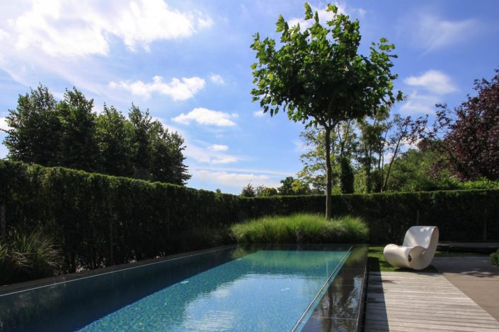 moderne tuin zwembad