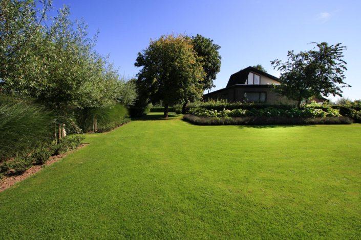 landelijke tuin gras